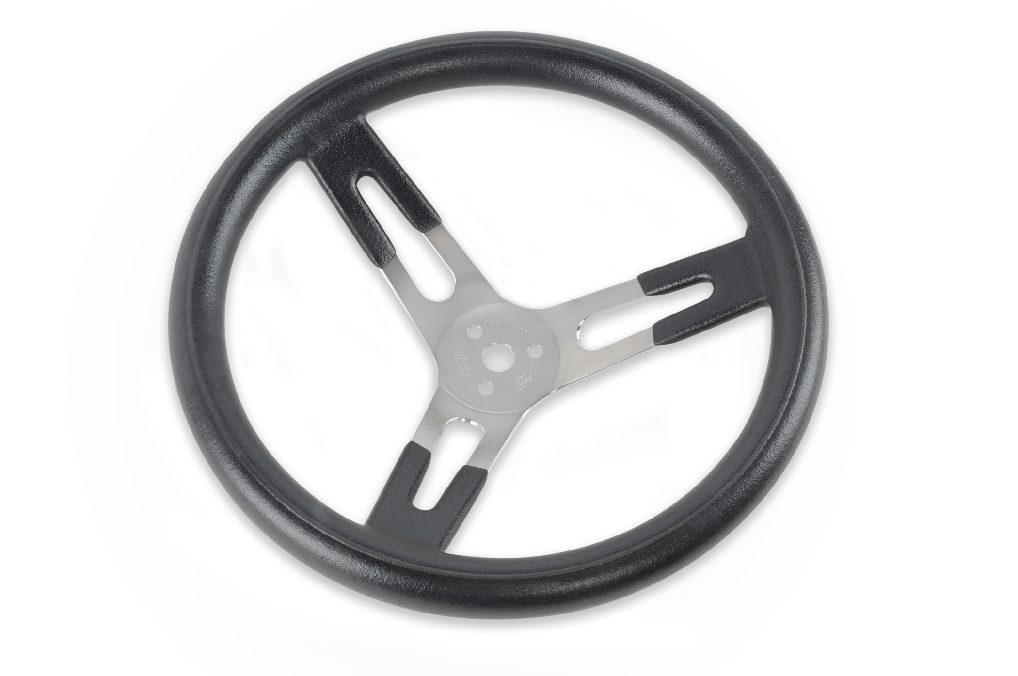 "15"" DISHED WHEEL W/ LARGE GRIP"