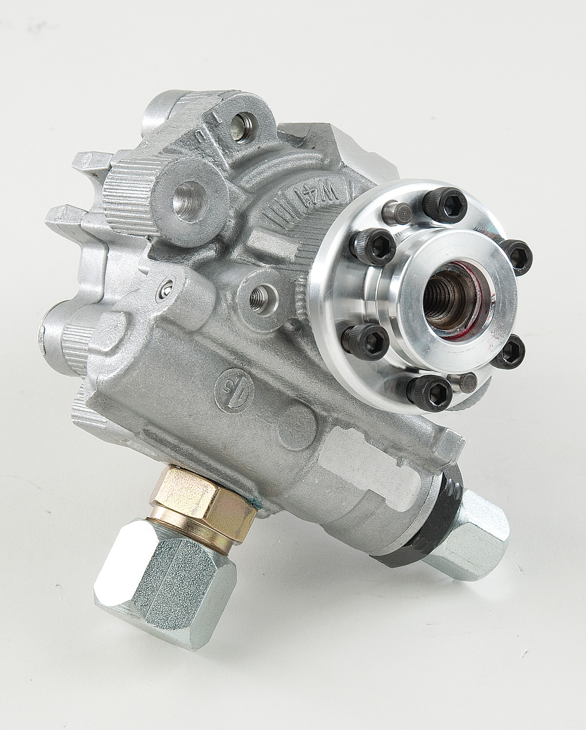 SWEET ALUM PS PUMP w/6 BOLT CV HUB