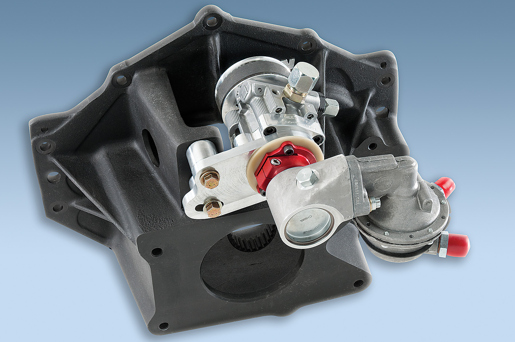Sweet Pump Housing on Chevy 305 Engine Exploded View