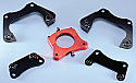 ALUMINUM BRAKE BRKT KIT (SPECIFY BRKT)