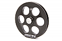 "6"" ALUMINUM SWEET PULLEY 7/16"" WIDE"