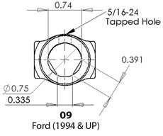 Common Style Universal Joints